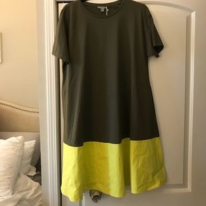 Two-tone casual dress!